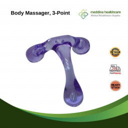 Meddina Body Massager, 3-point