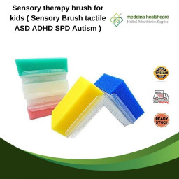 Sensory therapy brush for...